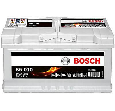 Bosch original S5 A11 80Ah Starterbatterie auto batterie Akku Audi Bmw Jaguar