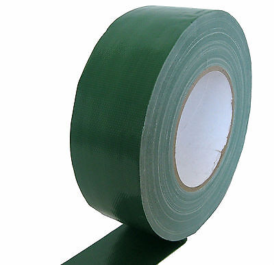 Gaffa Tape stage-band 50mm x 50m Dark Green Duct Tape (Dark Green Duct Tape)