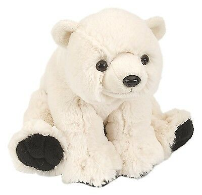 Plüschtier Eisbär Kuscheltier Teddybär Polarbär Stofftier weiß, ca.20 cm