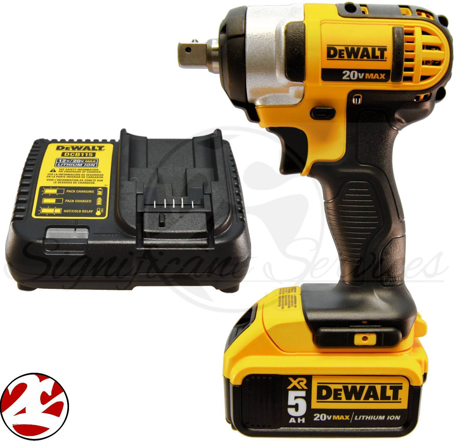 New Dewalt Dcf880 20v 20 Volt Max 5 0 Ah Battery Cordless