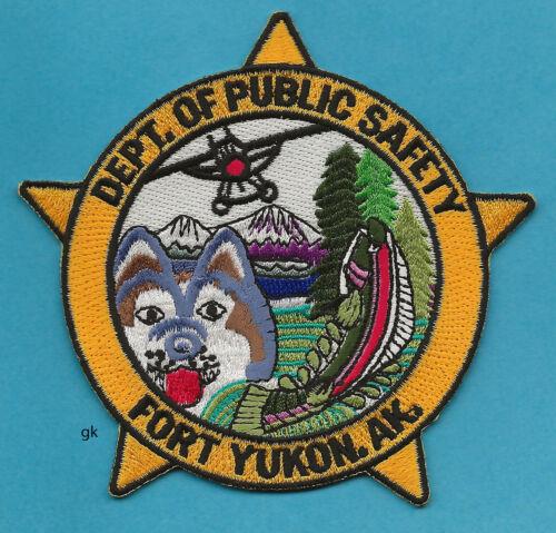 FORT YUKON ALASKA  DEPT OF PUBLIC SAFETY  POLICE SHOULDER PATCH