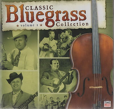 classic bluegrass collection vol 1 BRAND NEW SEALED 2 CD SET time life