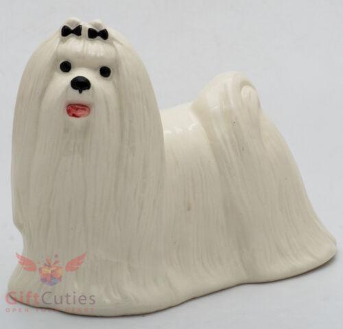 Porcelain Figurine of the Maltese dog