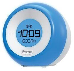 iHome Color Changing Dual Alarm FM Clock Radio with USB Charging (iM29SC)™