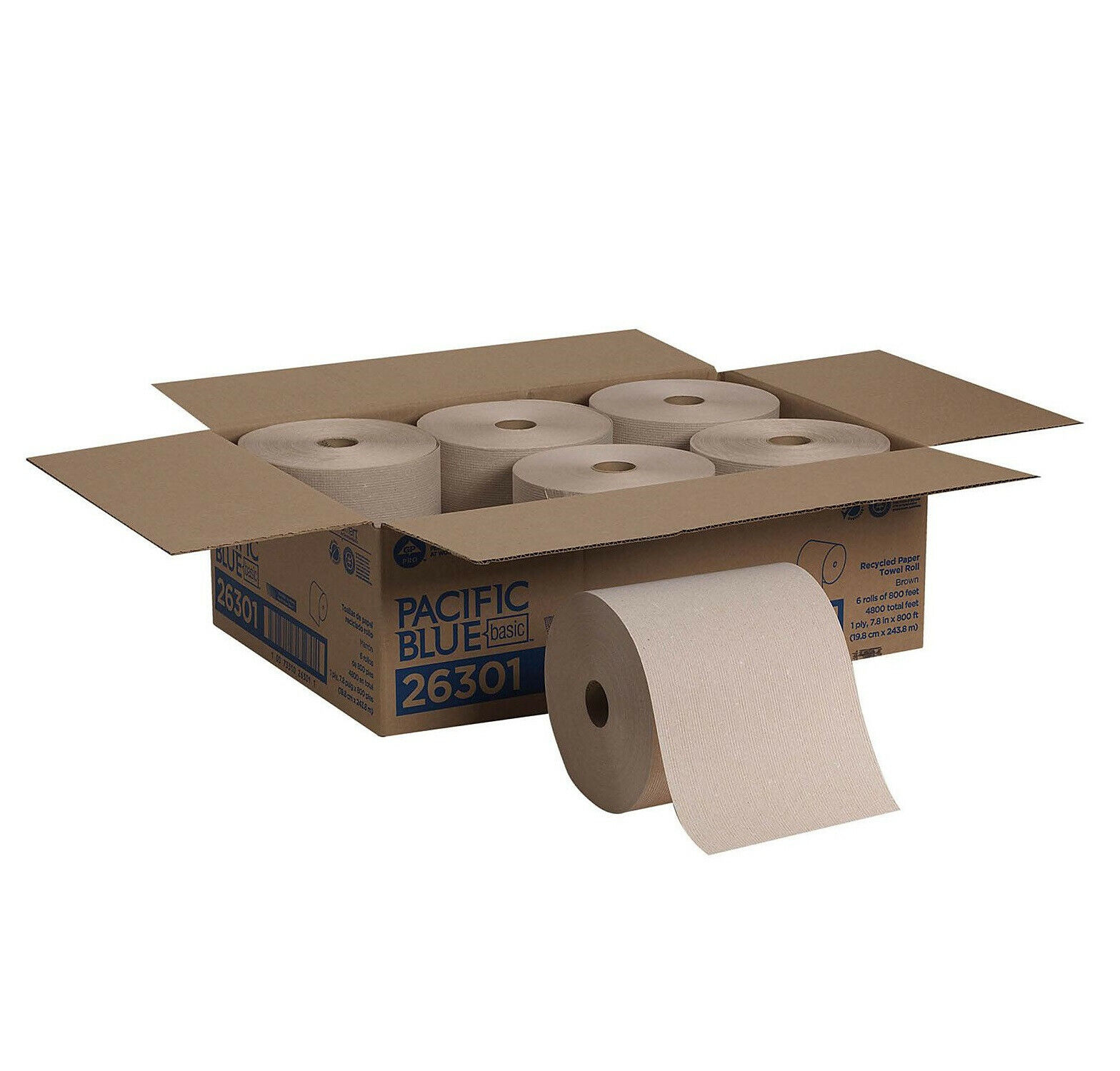 Georgia Pacific enMotion Paper Towel Roll 7/8 x 800ft White