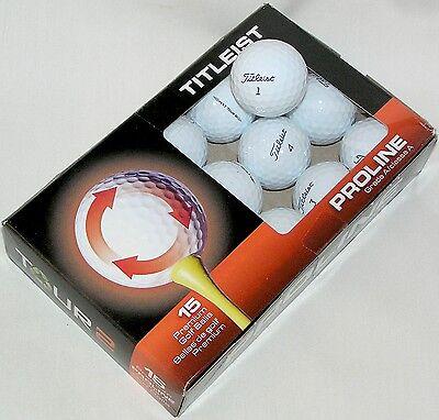 15 Titleist NXT Tour S golf balls White Grade AAAAA best balls LOT