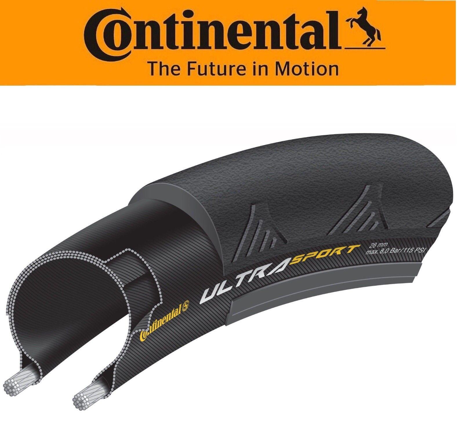 Continental Ultra Sport II 700 x 23 /25 / 28 or 32 mm Road T
