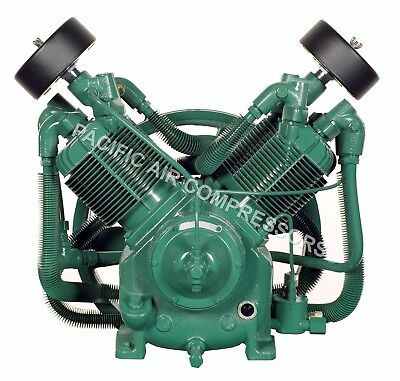 Champion R30d 2 Stage Splash Lubricated Compressor Pump With Head Unloaders