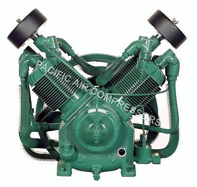 Champion R30d 2 Stage Splash Lubricated Compressor Pump With Head Unloaders
