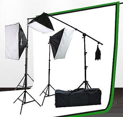 Fancierstudio lighting kit UL9004SB-69BWG 2000 Watt Photo St