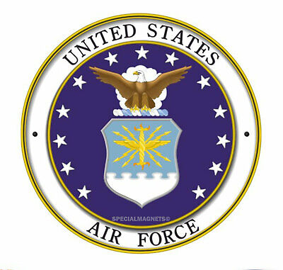 Air Force Car Magnets (UNITED STATES AIR FORCE MILITARY US Magnet NEW Car Bumper REMOVABLE USA)