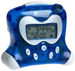 Oregon Scientific RM313PNA_BL Model RM313PNA Projection Atomic Alarm Clock, I...
