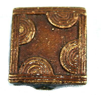Art African - Antique Weight Bronze to weigh gold Goldweight African - 2,4 Cm