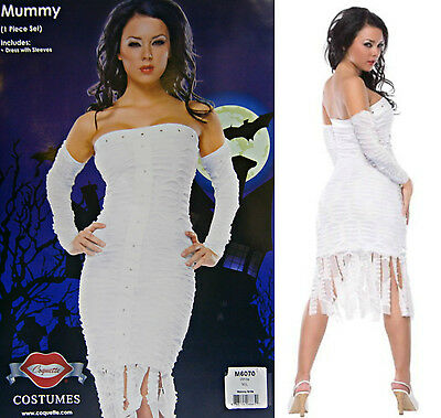 SIMPLE & SEXY MUMMY HALLOWEEN COSTUME  SIZE Small/Medium - Costume Simple Halloween