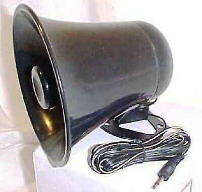 PA Horn Speaker w/Plug & Wire - 5 inch for CB/Ham Radio NEW
