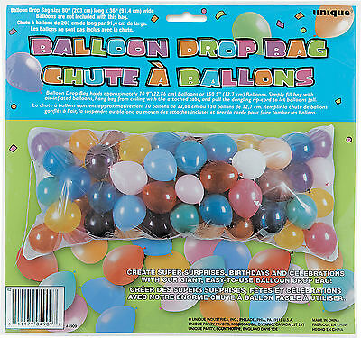 Balloon Drop Nets (Christmas New Year Balloon drop bag)