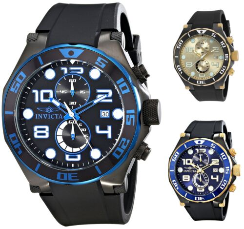 $59.99 - Invicta Men's Pro Diver Chronograph 50mm Rubber Watch - Choice of Color