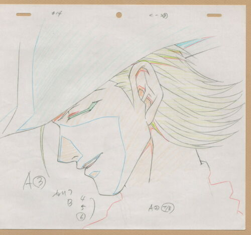 Saiyuki Production cel Drawing Sketch - Set of 10 #B anime - great details!!!!