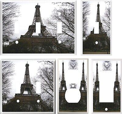 Paris France Tower - PARIS FRANCE EIFFEL TOWER #2  IMAGE  LIGHT SWITCH COVER PLATE U PICK SIZE