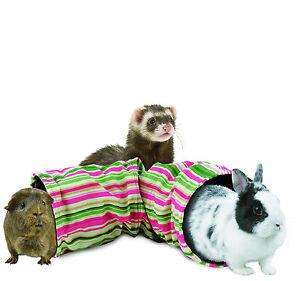 SuperPet-Ferret-Cage-Sugar-Glider-Rat-Crinkle-Tunnel-Crackling-Toy