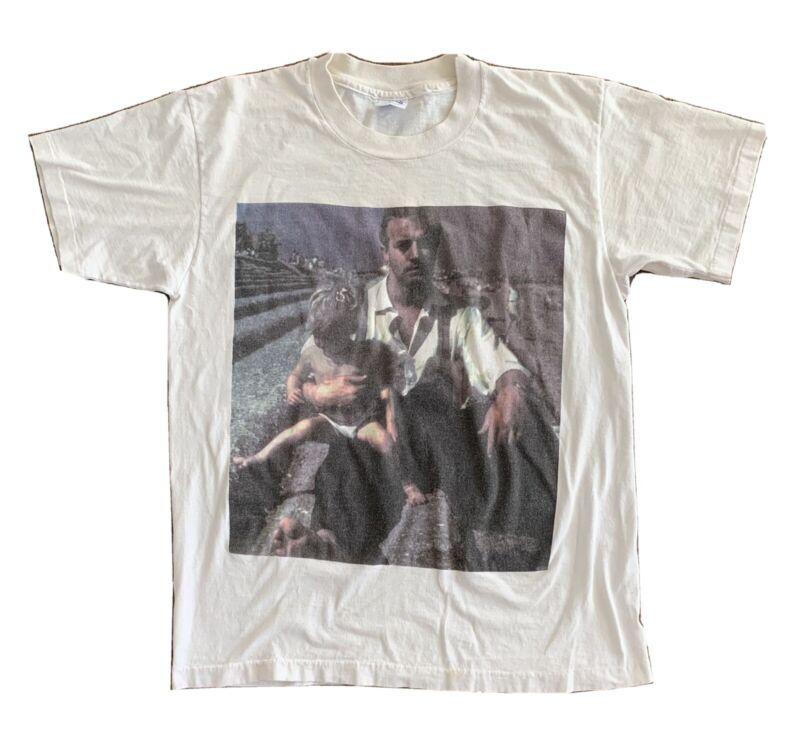 "Vintage 1992 Morrissey ""Charles Richardson"" Your Arsenal Tour T-Shirt"