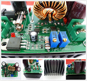 1pcs Boost DC-DC Converter Power Supply Step-up Module 10-60V to 12-80V 600W IT