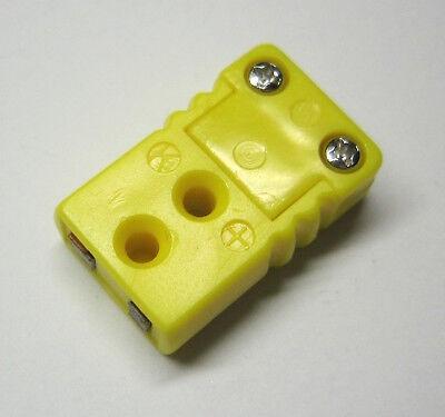 Miniature Mini K-type Connector Plug Female For Thermocouple Wire Sensor Probe