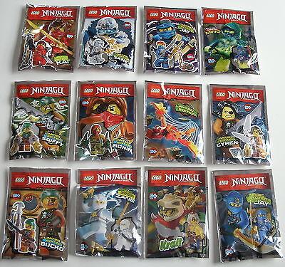 LEGO Ninjago - Minifiguren zum Aussuchen Limited Edition Neu & OVP ()