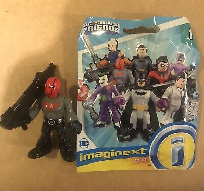 Imaginext DC Super Friends Series 1 Red Hood Complete Just Opened