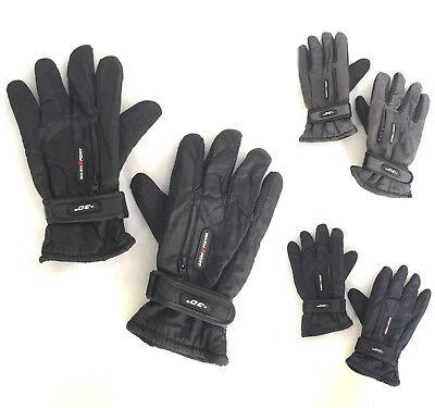 (Men Winter Outdoor Sports Ski Thermal Insulation Waterproof Gloves Mittens 5949)