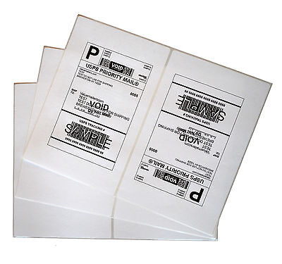 300 Round Corner 8.5x5.5 Premium Laser Mailing Shipping Labels For Ebay Fedex