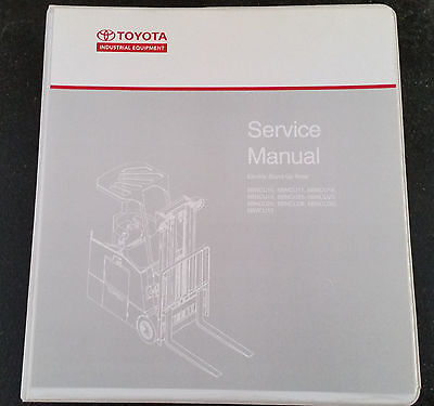 Toyota Forklift Service Manual Electric Stand 6b Series