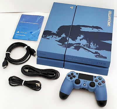 Sony PS4 Uncharted 4 Limited Edition Bundle System OEM PlayStation 4 Console Set