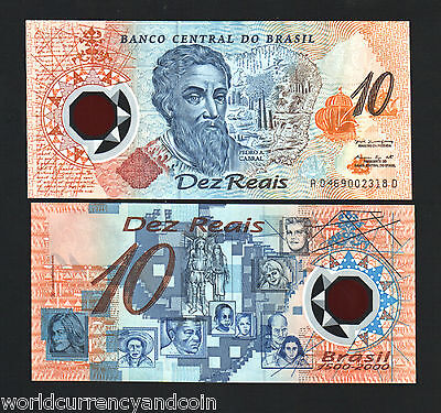 Click now to see the BUY IT NOW Price! BRAZIL 10 RIELS P248A 2000 BUNDLE POLYMER COMMEMORATIVE UNC CURRENCY 500 NOTES