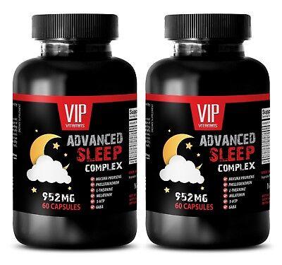 5-htp appetite suppressant - ADVANCED SLEEP FORMULA 952MG - sleeping aid -2B ()