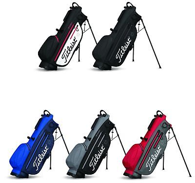 New Titleist Golf Players 4UP StaDry Stand Golf Bag TB8SX2 Charcoal Sta Dry