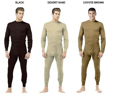 Thermal Underwear Set Cold Weather Military Ecwcs Style S...
