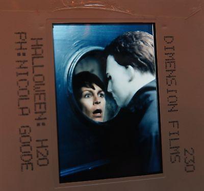 HALLOWEEN :H2O CAST Jamie Lee Curtis Janet Leigh LL Cool J 1998 ORIGINAL SLIDE - Janet Leigh Halloween