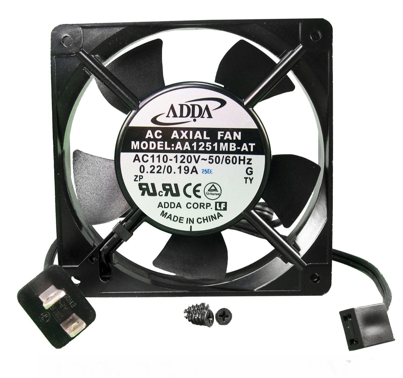 120mm 25mm new case fan 110v 115v 120v ac 71cfm pc cooling. Black Bedroom Furniture Sets. Home Design Ideas