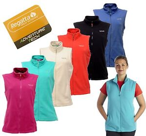 RRP-15-LADIES-REGATTA-FULL-ZIP-FLEECE-BODYWARMER-SIZES-10-26-SWTNSS