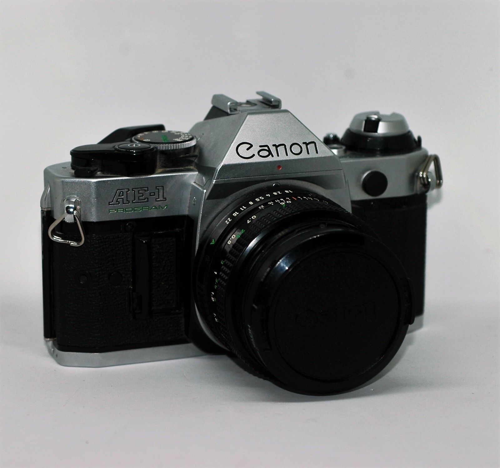 Canon AE-1 35mm SLR Film Camera with FD 50 mm f/1.8 Lens