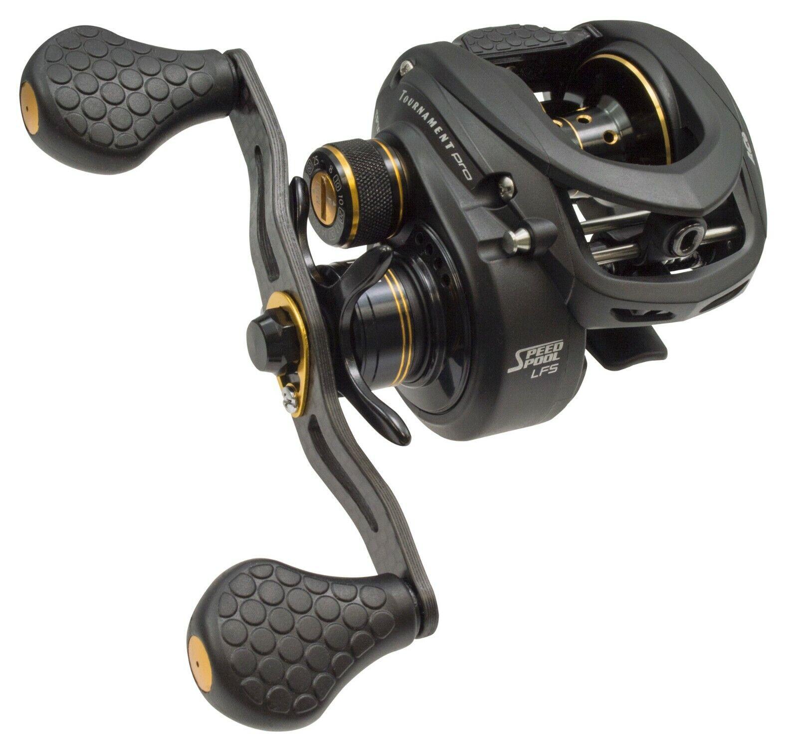 NEW Lew's Tournament Pro LFS Speed Spool Baitcast Fishing Reel - 8.3:1 RH TP1XHA