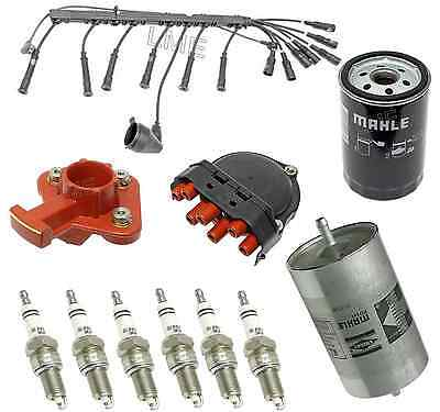 BMW e28 e30 e34 525i 325iX 325i Tune Up Ignition Wire Set Rotor Oil Stimulus Filter