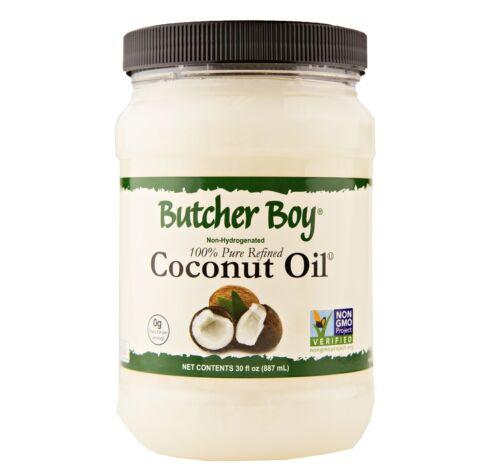 Butcher Boy Coconut Oil 30 oz. Jar (12 Jars)