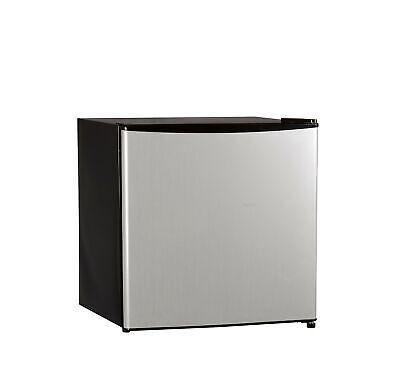 Single Reversible Door Refrigerator and Freezer, 1.6 Cubic F