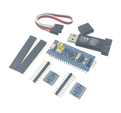 Stm32f103c8t6 Arm Stm32 Board Module Blue Pill St-link V2 2x Logic Level Adapt