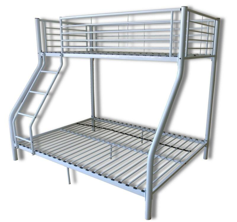 White Triple Bunk Beds For Sale