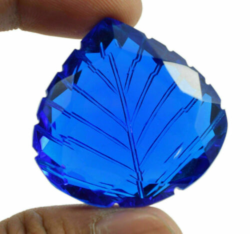 AAA Quality 108 Ct Certified Brazilian Curving Blue Topaz Loose Gemstone