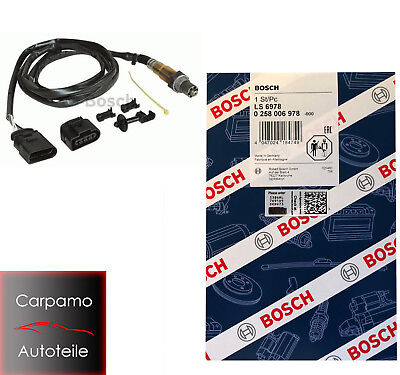 Bosch Lambdasonde 0258006978  Audi, Ford, Seat, Skoda, VW LS6978