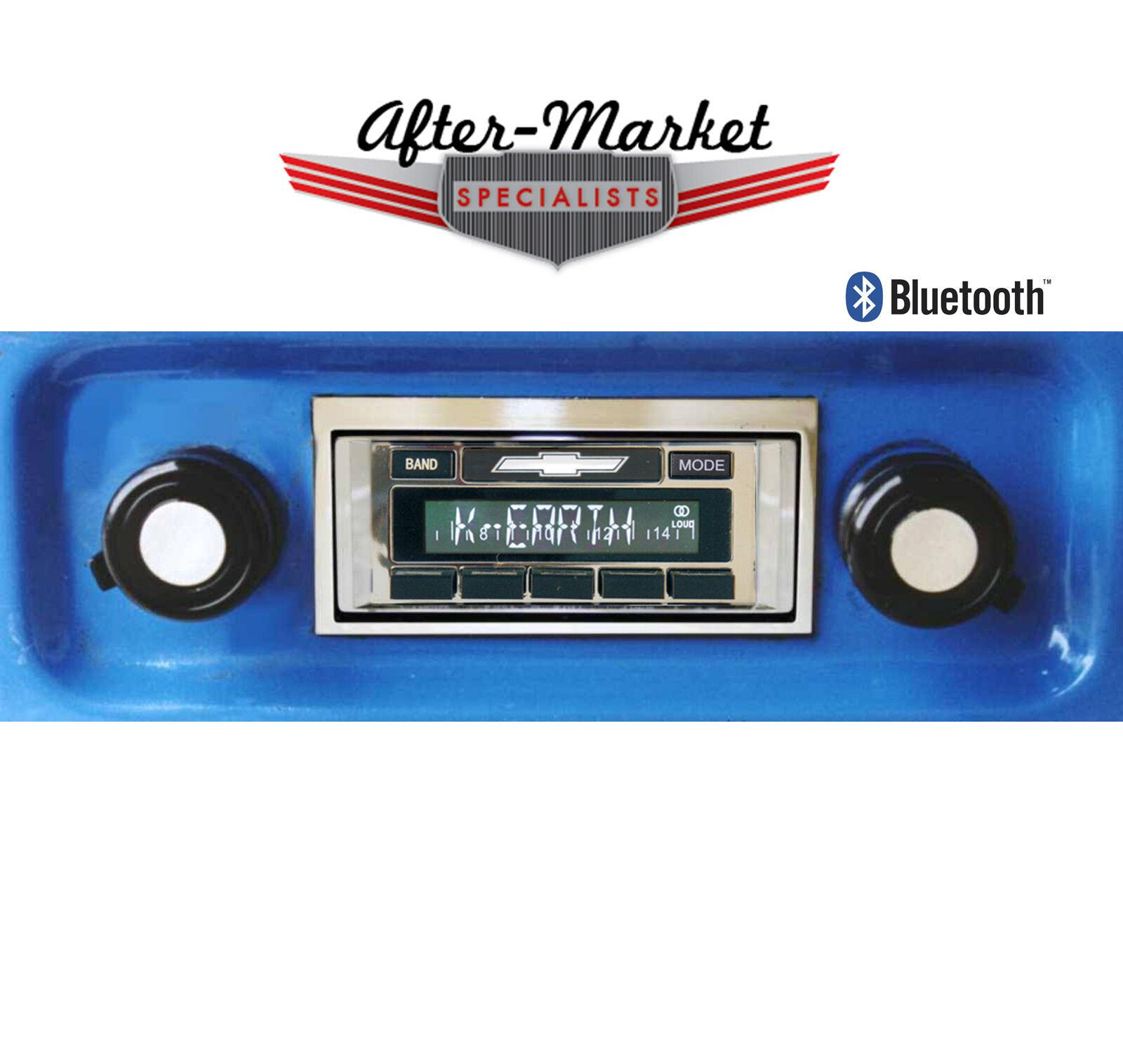 68 69 70 71 72 Chevy Truck Radio Custom Autosound USA 630 USA-630 Bluetooth